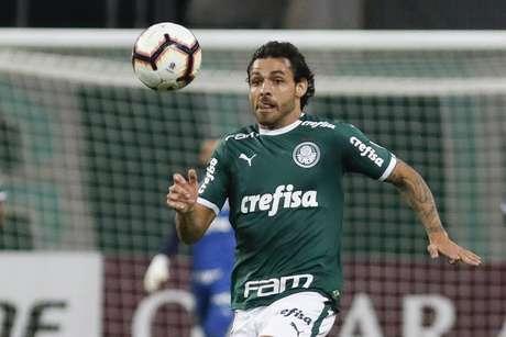 Ricardo Goulart durante partida entre Palmeiras x Junior Barranquilla da Colômbia, realizada no Allianz Parque em São Paulo, SP