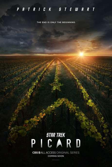 """Novo pôster indica um Capitão Picard """"vinicultor"""" (fonte: Amazon)"""