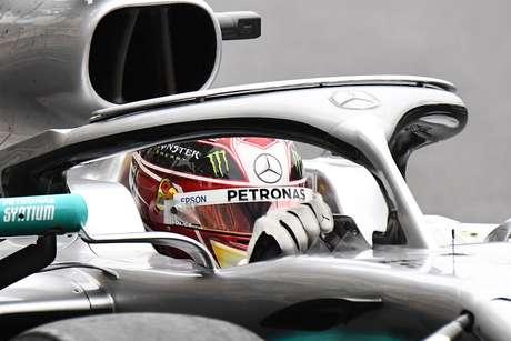 """Hamilton """"muito feliz"""" com sua Mercedes para o GP de Mônaco"""
