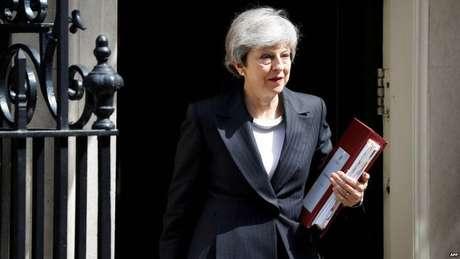May foi a primeira premiê mulher do país desde Margaret Thatcher