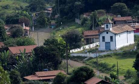 Vila de Socorro, hoje abandonada, na região de Barão de Cocais (MG)  24/05/2019 REUTERS/Washington Alves