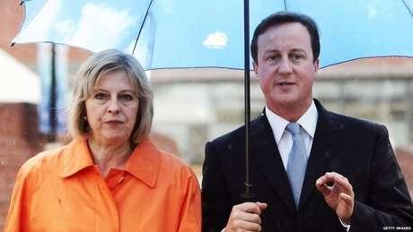 May foi grande apoiadora de Cameron e havia anos figurava na lista de possíveis líderes dos Conservadores