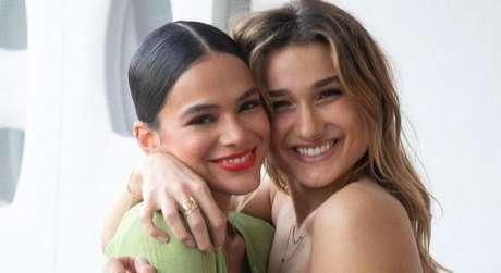 Bruna Marquezine e Sasha (Foto: @brumarquezine/Instagram/Reprodução)