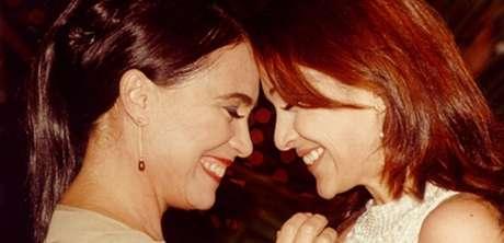Helena (Regina Duarte) e Maria Eduarda (Gabriela Duarte): laços familiares a serviço de uma trama irresistível