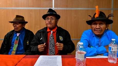 Os representantes da comunidade Guna disseram que vão atrás de uma compensação financeira