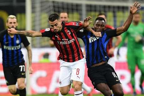 Atalanta, Inter, Milan e Roma brigam por dois lugares na próxima Champions (AFP)