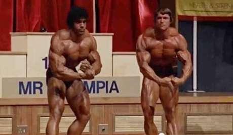 Lou Ferrigno e Arnold Schwarzenegger competiram algumas vezes no Mr. Olympia e brincam até hoje a respeito da rivalidade