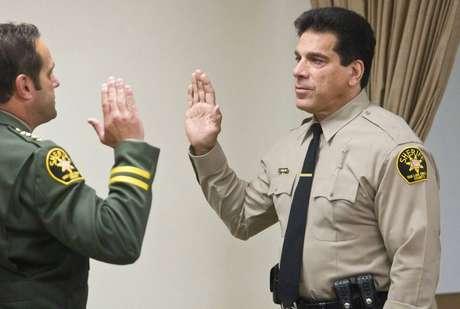 Filho de policial, Ferrigno atua como voluntário na segurança pública de alguns condados americanos