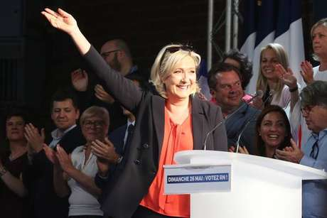 A francesa Marine Le Pen