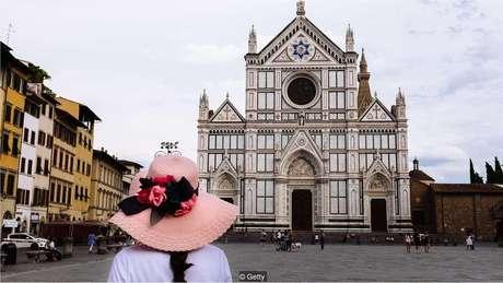 """Stendhal afirmou que visitar Basílica de Santa Croce foi """"uma experiência extremamente profunda"""""""
