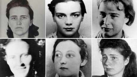 Algumas das mulheres cujos corpos foram examinados por Stieve (fonte: GDW)