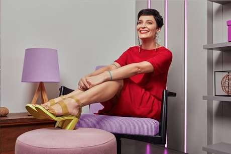 Vanessa Rozan, maquiadora do programa 'Esquadrão da Moda', do SBT