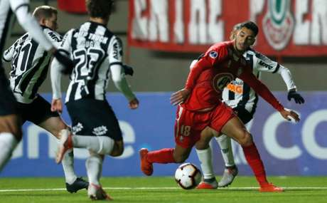 Desconhecido, o Unión La Calera conseguiu vencer o Galo no jogo de ida da Sul-Americana- (Divulgação/La Calera)