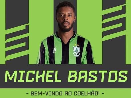 Bastos disputou o Brasileiro da Série A de 2018 pelo Sport-PE- (Divulgação/América-MG)