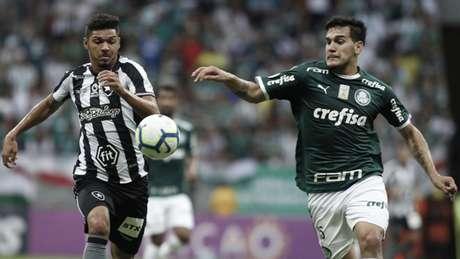 Jogo entre Botafogo e Palmeira foi realizado no sábado (Foto: Adalberto Marques/DiaEsportivo/Lancepress!)