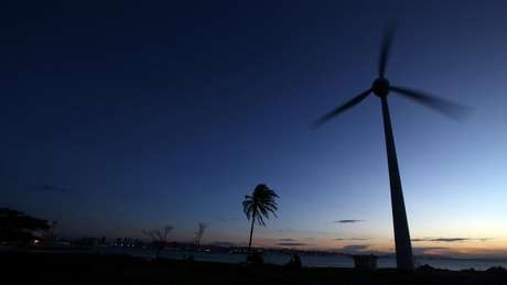 Turbina eólica em Fortaleza (CE)  26/04/2017 REUTERS/Paulo Whitaker
