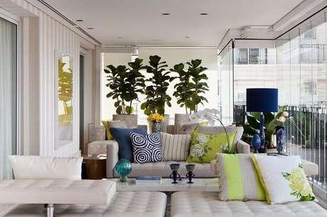 2. Uma das principais dicas de decoração é sempre planejar os ambientes com um estilo confortável – Foto Marília Veiga