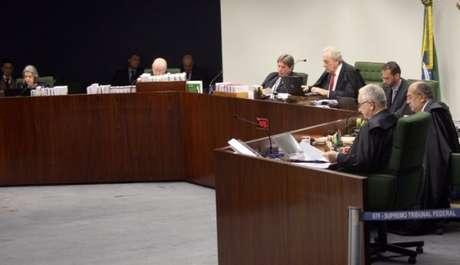 Sessão da Segunda Turma do Supremo Tribunal Federal