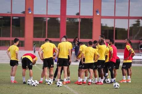Seleção venezuelana já está treinando para amistosos antes da Copa América.