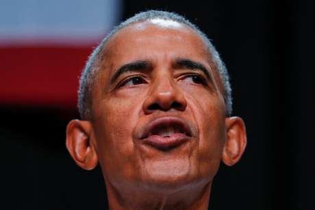 Ex-presidente dos EUA Barack Obama em evento na Califórnia