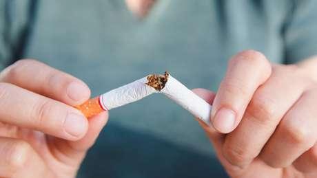Apenas alguns minutos depois de parar de fumar, o corpo já percebe a diferença