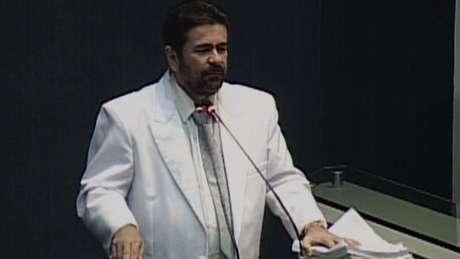 O deputado negava fazer parte de uma organização criminosa e usou a tribuna da Assembleia para se defender