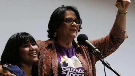 Damares com Lulu: ela diz ter realizado uma 'adoção socioafetiva'