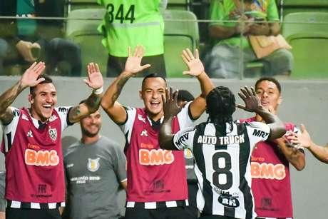 Chara faz o 3º do Atlético-MG contra o CSA,partida válida pela 7º rodada do Campeonato Brasileiro, na Arena Independência, em Belo Horizonte 02/06/2019.