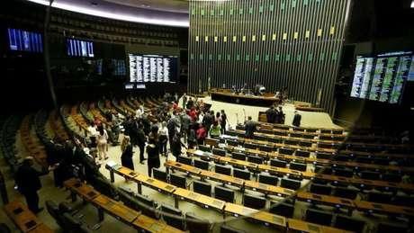 Plenário da Câmara: deputados entram em recesso em 17 de julho e voltam em 1º de agosto