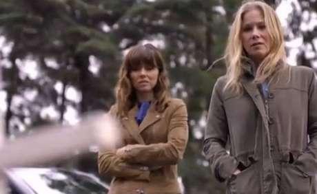 Trecho da primeira temporada de'Disque Amiga Para Matar', na Netflix.