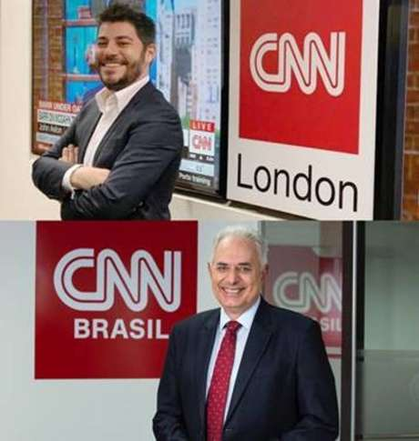 Evaristo Costa e William Waack serão apresentadores da CNN Brasil.