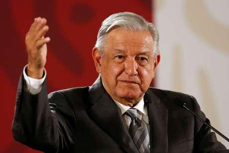 López Obrador, durante entrevisa no México 4/6/2019 REUTERS/Gustavo Graf
