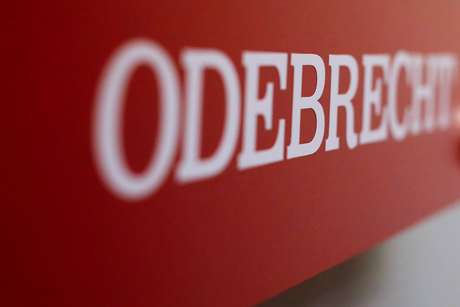 Logo da Odebrecht, empresa em dificuldades após ser alvo de investigações