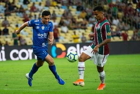 Equipes empataram na primeira partida (Foto: Bruno Haddad/Cruzeiro)