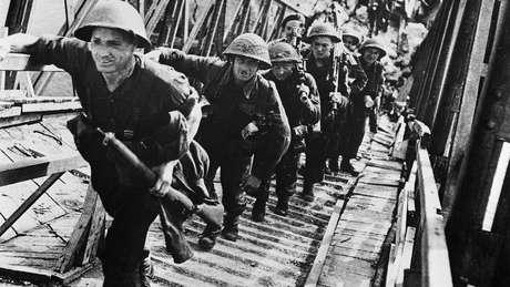 Avanço das tropas foi lento e resistência alemã foi considerável
