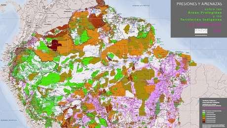 O portal Amazônia na Encruzilhada reúne mapas interativos, fotos, vídeos e estudos de casos sobre ameaças à Amazônia