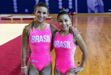 Jade Barbosa e Flavia Saraiva são algumas das atrações do Brasileiro (Foto: Reprodução)