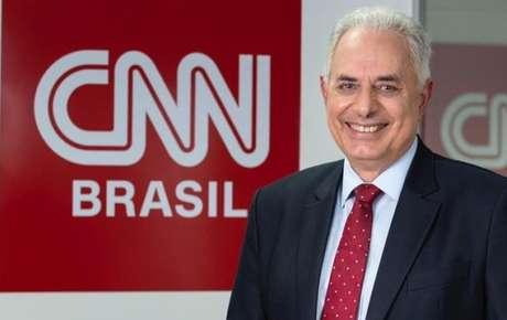 William Waack será o principal âncora do novo canal de notícias