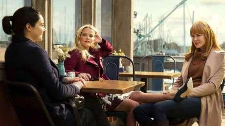 Shailene Woodley, Reese Whiterspoon e Nicole Kidman, protagonistas de 'Big Little Lies'.