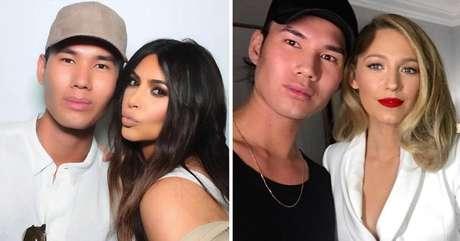 O maquiador Patrick Ta já trabalhou com a empresária Kim Kardashian e suas irmãs e com a atriz Blake Lively