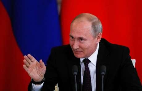 Presidente russo, Vladimir Putin, em Moscou 05/06/2019 REUTERS/Evgenia Novozhenina