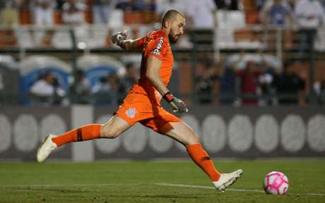 Goleiro Walter será o titular do Corinthians em Minas Gerais (Luis Moura / WPP)