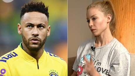 Mais um capítulo no caso de estupro envolvendo Neymar (Foto: AFP; Reprodução)