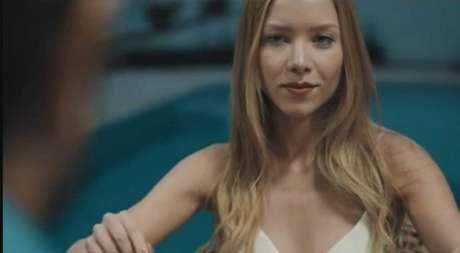 Najila em um vídeo de 2017