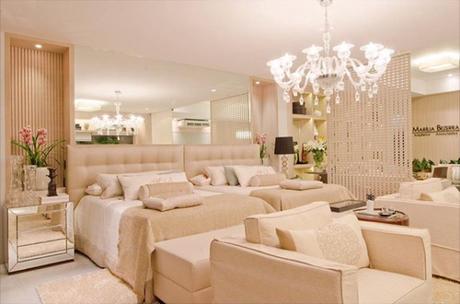 67. Quarto de luxo clean e confortável para passar o dia. – Foto: Assim eu gosto!