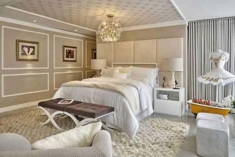 78. Coloque um toque da sua personalidade no quarto de luxo! – Foto: Homify