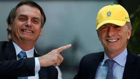 Bolsonaro e membros de seu governo se manifestaram a favor da reeleição de Macri