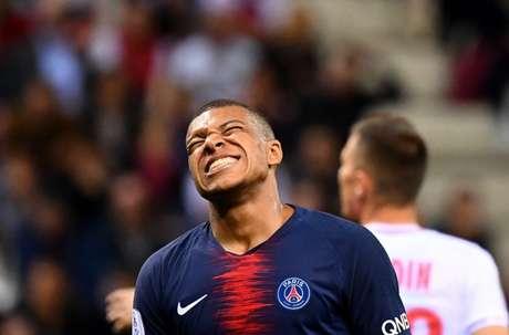 Mbappé está insatisfeito com oo PSG (Foto: AFP)