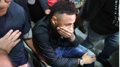 Neymar prestou depoimento na última quinta-feira (Foto: Cesar Sales/AM Press/Lancepress!)