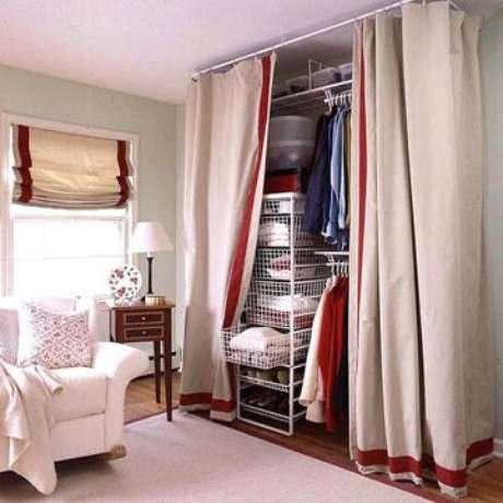 63. Monte seu closet aramado no quarto.